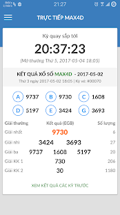 Xổ số Vietlott Mega 645 Max4d Power 655 trực tiếp - náhled