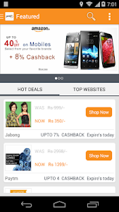 Getex: Assured Cashback screenshot 0