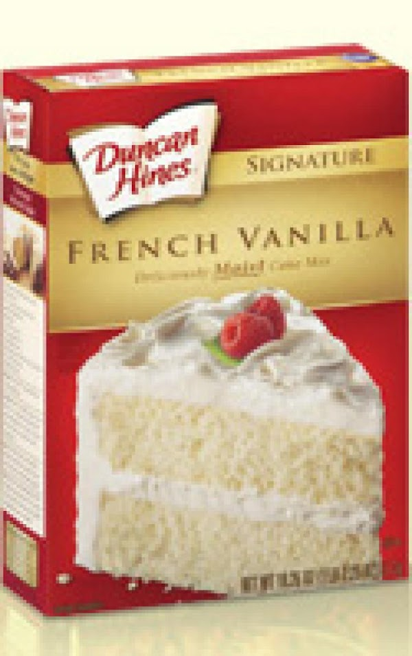 Make cake mix according to package directions.