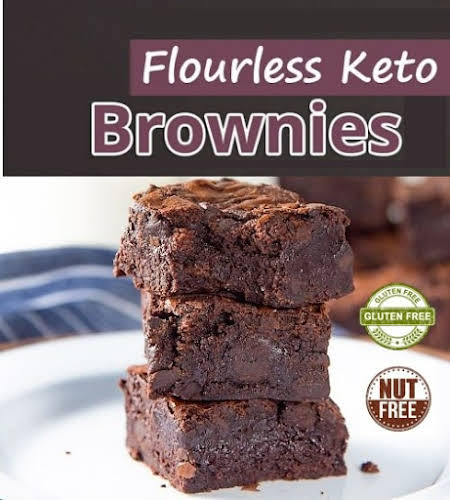 Nut Free & Flourless Keto BROWNIE | Free from Sugar, Coconut, Gluten & Grain