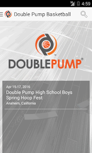 Double Pump Basketball- screenshot thumbnail