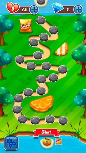 Desert Jely - Jelly Blast game