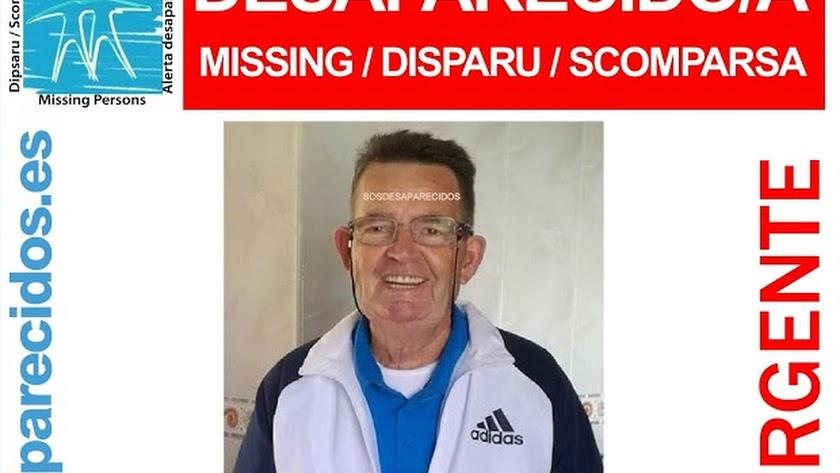 Ficha de la desapareción de Francisco Soto
