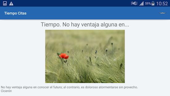 Download Tiempo Citas y frases famosas For PC Windows and Mac apk screenshot 9
