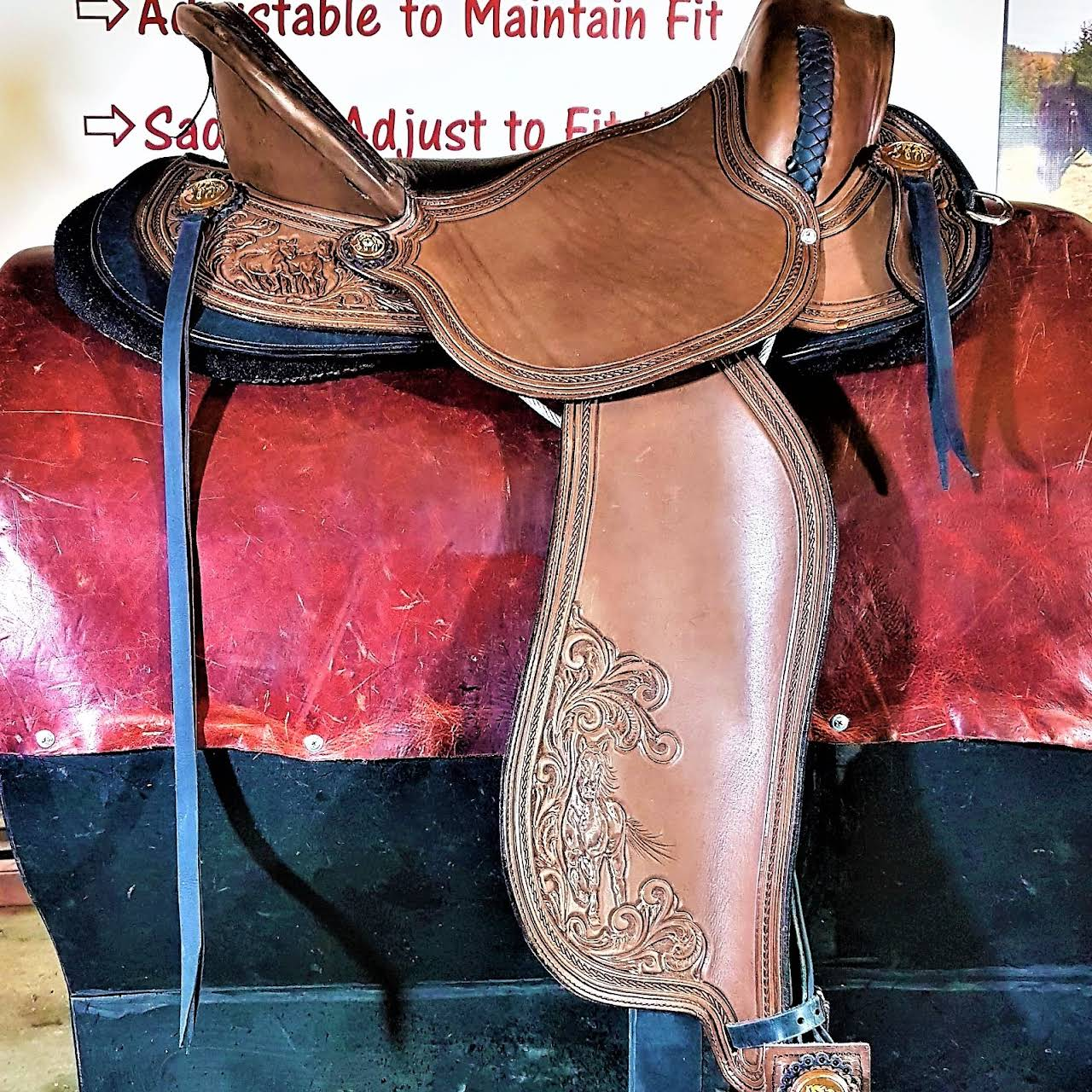 Easy Fit Saddles - Custom Saddle Maker in Millarville