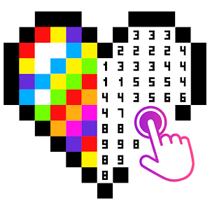 No. Color - Color by Number, Number Coloring Icon