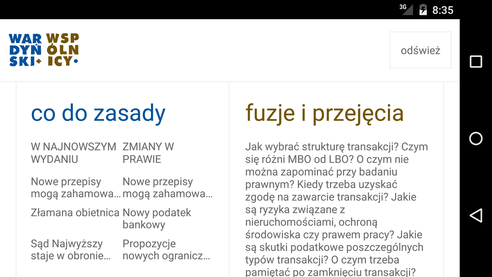 Wardyński+- screenshot