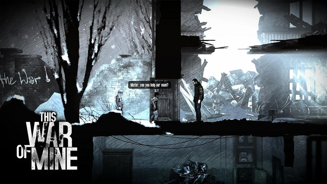 This War of Mine Android App Screenshot