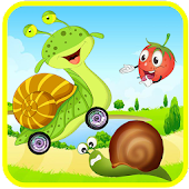 Snail Skateboard Bob adventure
