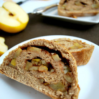 Whole Wheat Apple Walnut Bread