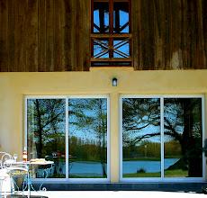 Photo: The Lake Cottage, Aquitaine, France. Le Chalet au Lac, gîte en Aquitaine