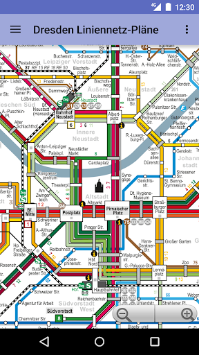 Dresden Transit Maps