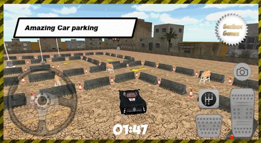 3D 도시 완벽한 주차장
