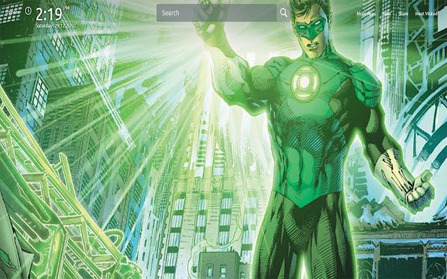 Green Lantern Wallpapers Theme New Tab