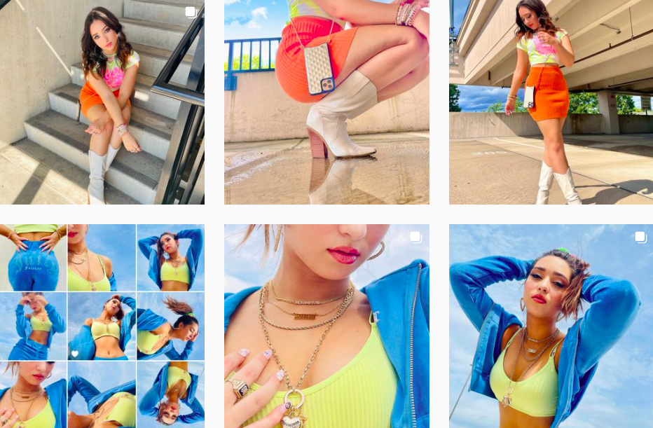 Francesca L   Instagram Fashion Posts