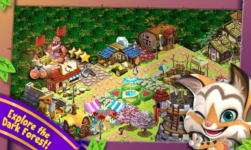 Brightwood Adventures:Meadow Village! screenshot 13