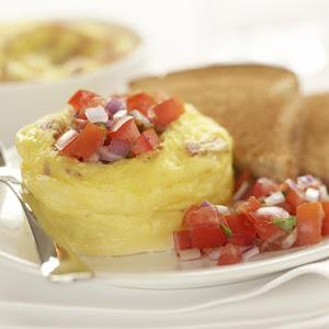 Quick Ham and Eggs