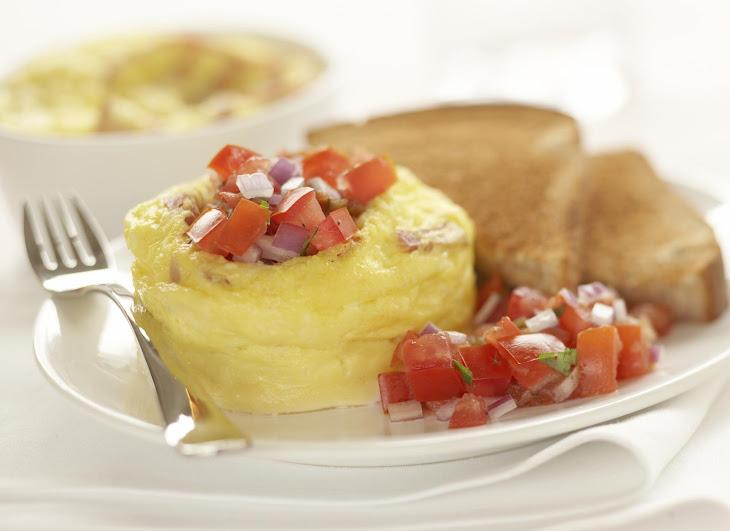 Quick Ham and Eggs Recipe