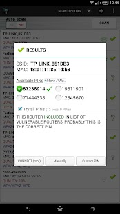 Wifi WPS Unlocker Screenshot