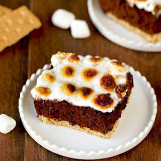Brownie S'Mores Bake Recipe