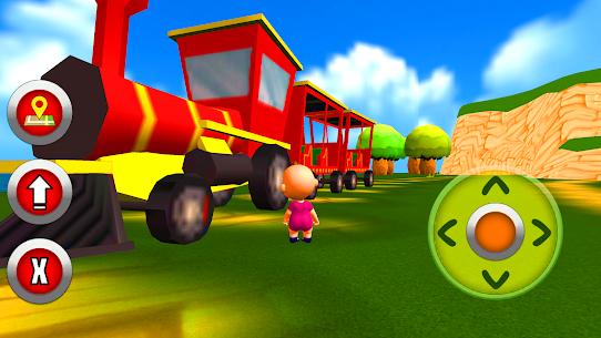 طفل حديقة المرح – ألعاب الطفل 1