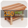 250 Wood Table Design APK icon