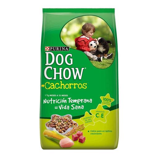 alimento para mascotas dog chow cachorro raza mediana/grande 2kg