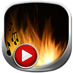 Fire Live Wallpaper with Sound Icon