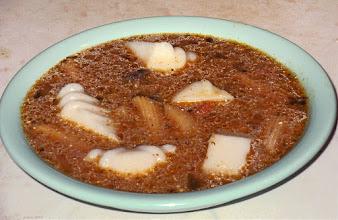 Photo: Zupa grzybowa z kostkami z kaszy manny 29