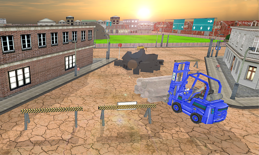 City Cargo Forklift 2017 1.1 screenshots 2
