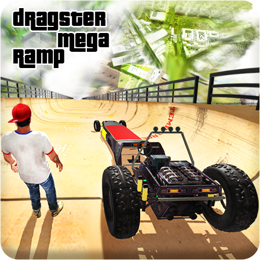 Dragster Mega Ramp Car Stunts: Drag Racing Game 3D