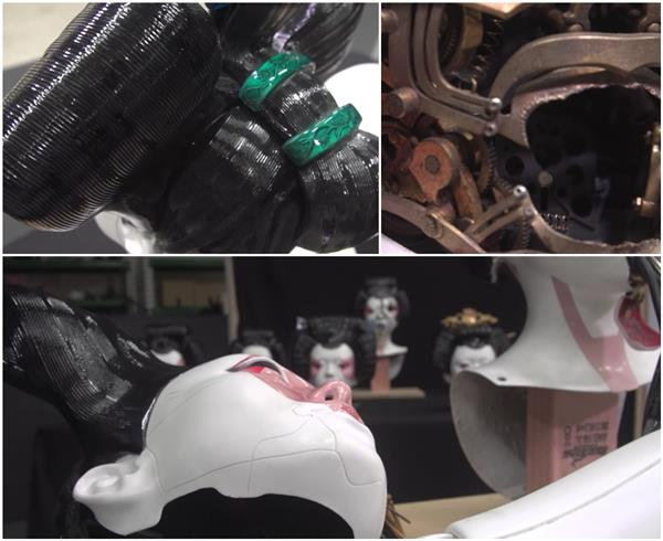 Как 3D печать помогла создать маски гейши робота из «Призрак в доспехах»
