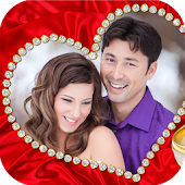 Romantic Wedding Photo Frames: Couple Photo Editor