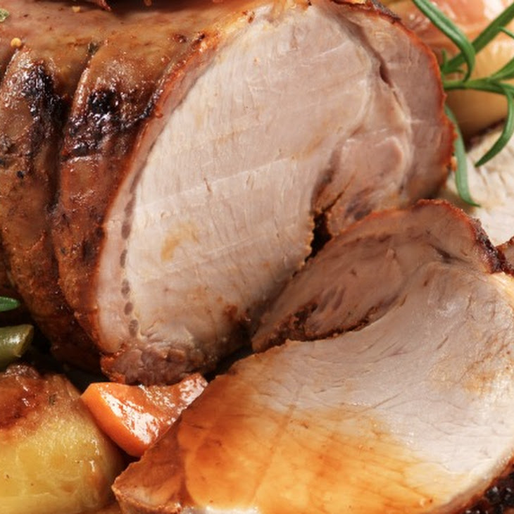 Slow Cooker Pork Roast with Apples