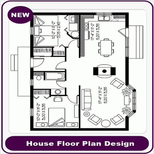 house floor plan design screenshot