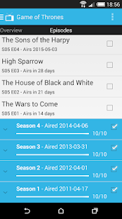 Show Tracker- screenshot thumbnail