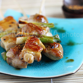 Yakitori (Japanese Grilled Skewered Chicken/焼き鳥)