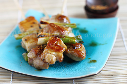 Yakitori (Japanese Grilled Skewered Chicken/焼き鳥) Recipe | Yummly