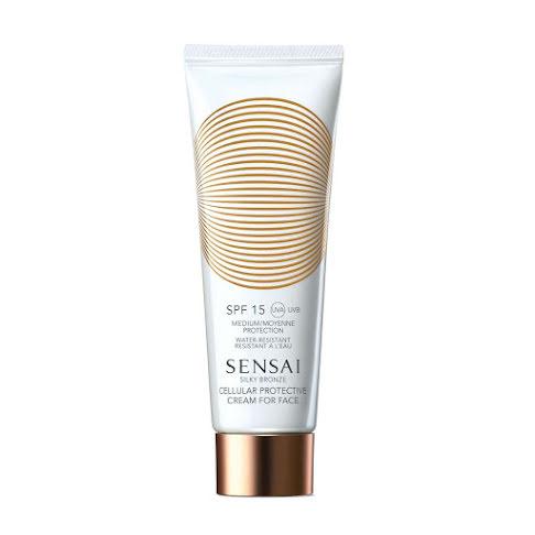Sensai Silky Bronze Cellular Protective Cream For Face (SPF15) 50ml