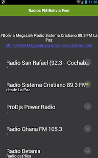Radios FM Bolivia Free - náhled