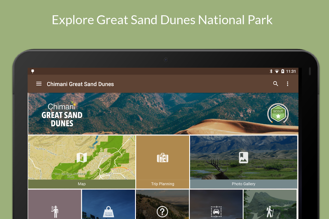 Great Sand Dunes NP by Chimani- screenshot