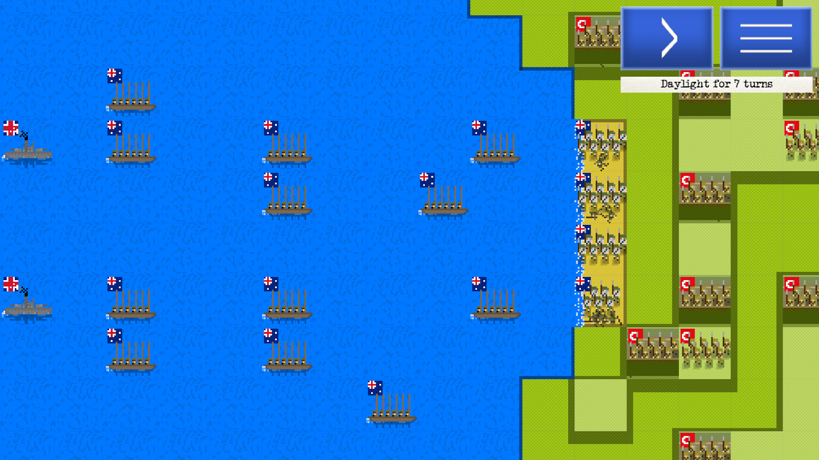 Pixel Soldiers: The Great War- screenshot