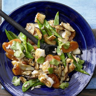 Fish and Vegetable Stir-Fry.