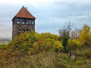 """Photo: I miejsce w konkursie - Gratulujemy !!! zdjęcie Adriana : """" Baszta wybudowana w celach propagandowych przez Hitlerowców w 1934 roku. Znajduje się w Santoku (woj. lubuskie) i widoczna jest z drogi, bo góruje ponad wsią."""""""