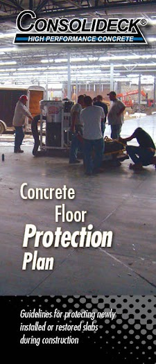 guideline for protecting newly installed slabs during construction