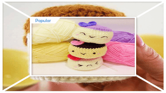 Adorable Food Amigurumi Step by Step - náhled