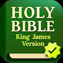 Daily Bible: Holy Bible Verse Study King James KJV icon