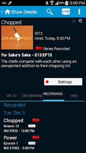 AT&T U-verse - screenshot thumbnail