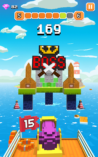 Blocky Tower - Knock Box Balls Ultimate Knock Out android2mod screenshots 9