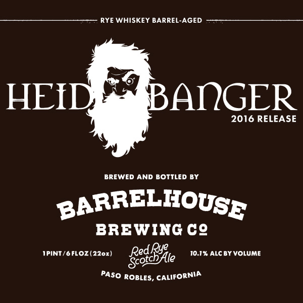 Logo of BarrelHouse Heidbanger 2016 - Red Rye Scotch Ale
